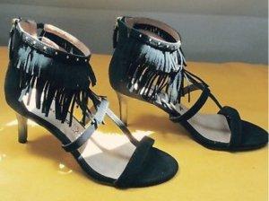 NEU Tamaris Sandaletten schwarz 39