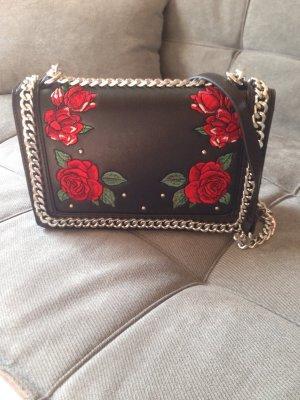 Neu Tasche mit Rosen und Nieten