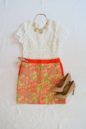 NEU Ted Baker Wrap Skirt Rock Frühling Bunt