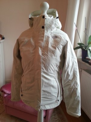The North Face Double Jacket white polyester