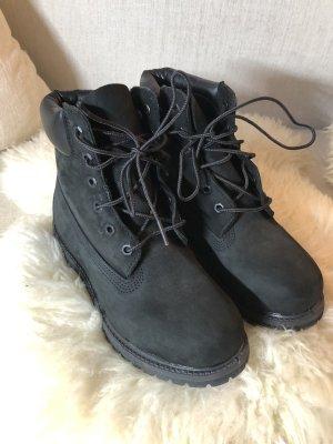 Timberland Botas negro Cuero