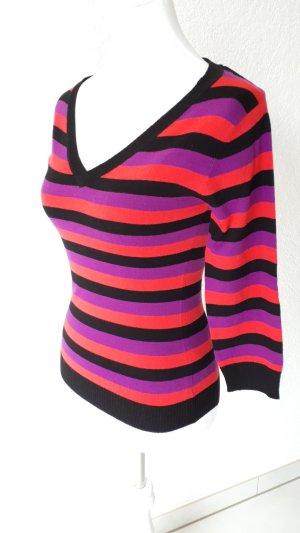 H&M V-Neck Sweater multicolored