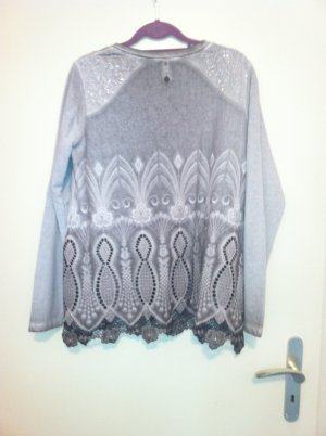 Tredy Oversized Jacket silver-colored