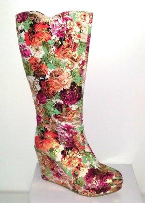 Neu -Tolle Stiefel mit Keilabsatz - Wedges von Emilia Shoes Gr. 41