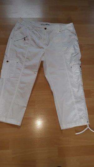 Canda Capris white cotton