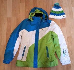 NEU! Tolle Wintersport-Jacke mit passender Mütze - ungetragen!