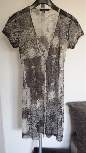 Neu tolles Strandkleid Kleid SommerkleidMinikleid Bluse Braun Creme gr M