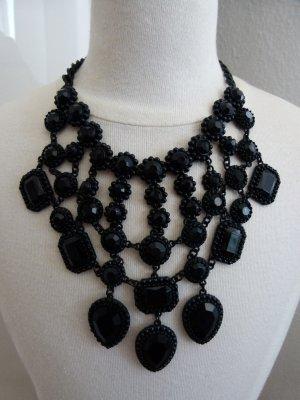 Zara Statement Necklace black