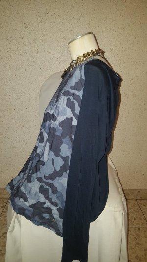 NEU!Tommy Hilfiger Damen Shirt Camouflage Gr.XL Blau Grau