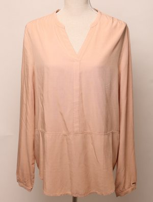 * neu * Tommy Hilfiger Denim Tunika Bluse  XL 40 42 apricot lachs rose nude