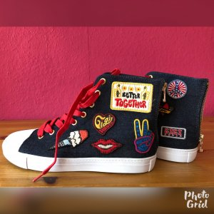 NEU! Tommy Hilfiger – Gigi Hadid – High Top Sneaker 40