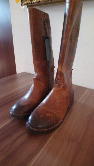 Tommy Hilfiger Jackboots brown-black
