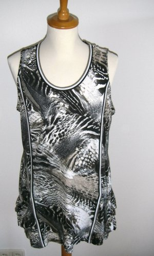 neu, Top, Steilmann, Animalprint, Longtop, Tanktop, Gr. 42
