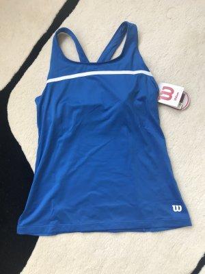 Wilson Sporttop blauw-wit