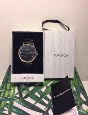 NEU Topshop Uhr in schwarz
