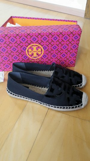 "NEU! ""Tory Burch Poppy Espadrilles""  in black"