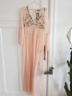 Dress rose-gold-coloured