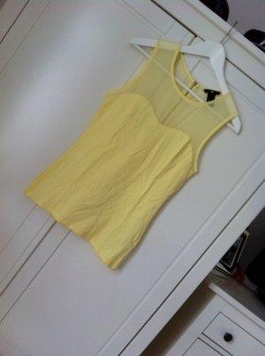 Neu transparent Shirt Top H&M XS NP 24,9