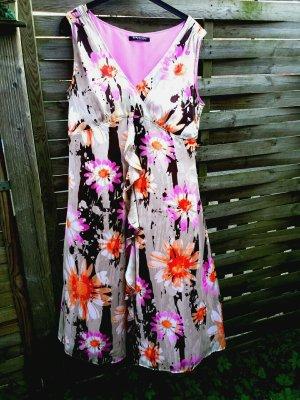 Neu Traum  Betty Barclay Sommerkleid Kleid Blumenkleid gr 42 44