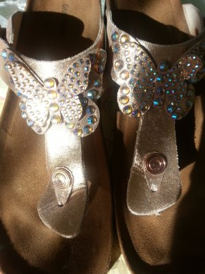 Graceland Mules silver-colored-gold-colored