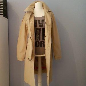 Esprit Robe tunique brun sable tissu mixte