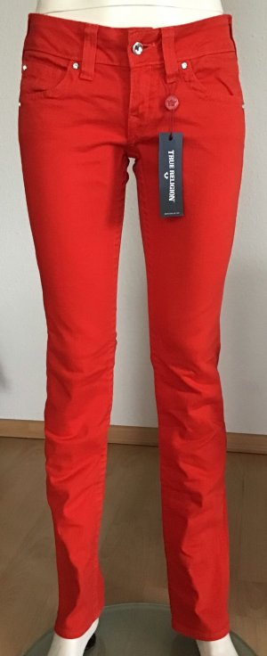 True Religion Vaquero slim rojo