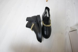 Truffle Booties black-gold-colored