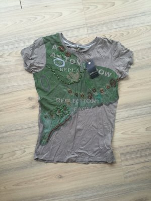 NEU +++ Tshirt Top REPLAY ++ only used Style Rock chic Hippie