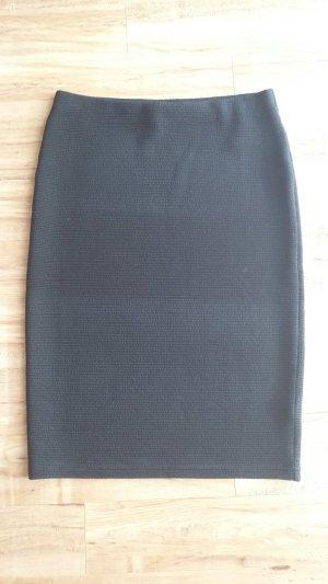 NEU Tube Rock Bleistiftrock Stretch schwarz