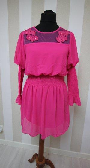 Robe tunique rose