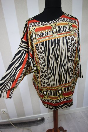NEU TUNIKA SHIRT TOP ZEBRA LEOPARD