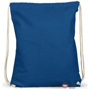 Sac seau bleu coton