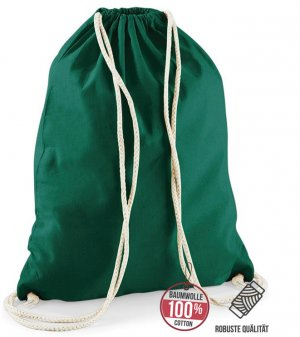Canvas Bag dark green cotton