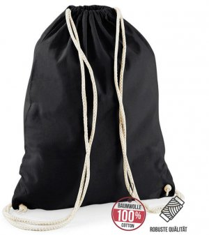 Canvas Bag black cotton