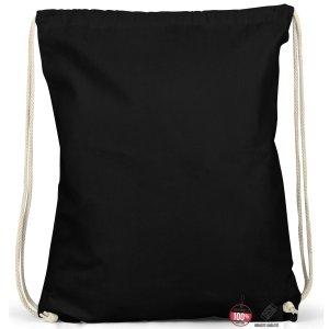 Canvas Bag black cotton