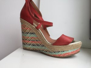 Tuva&Linn Wedge Sandals multicolored