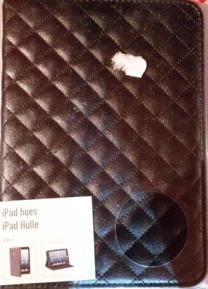 Étui pour téléphone portable noir faux cuir