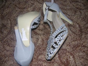 Feida High Heel Sandal grey