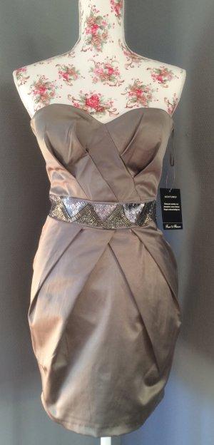 Neu und ungetragen! Festliches Bandeau-Kleid in Gr. XS