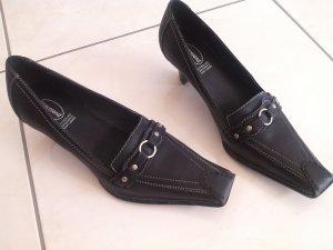 Neu und ungetragen! flippige Schuhe,Leder,Gr.39, Graceland,schwarz