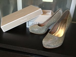 NEU und ungetragen Platinum Glam, Heels von Tamaris