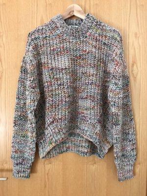 Acne Maglione di lana multicolore Lana