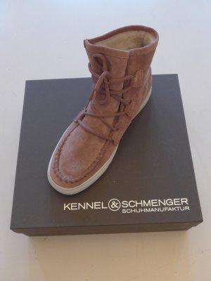 Kennel + schmenger Bottine d'hiver multicolore daim