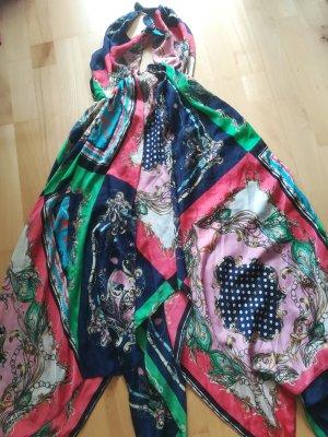 Neu/ungetragen:Strandkleid Neckholder, ideal ueber den Bikini, leuchtende Farben