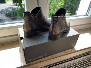 Timberland Western Booties anthracite-dark grey leather