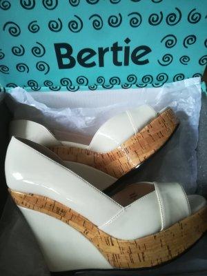 Bertie Platform Pumps light brown-cream