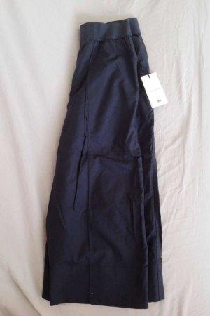 Uniqlo 7/8-broek donkerblauw Katoen