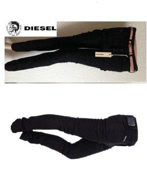 Neu!!! UPV139€ DIESEL STRECHIC Jeans Super Slim W24 black