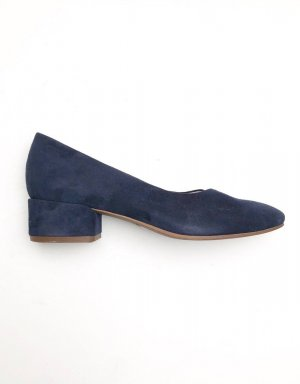 Vagabond Tacones Mary Jane azul oscuro-azul Gamuza