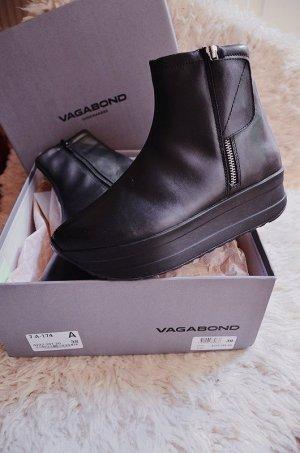 Neu! Vagabond Casey Plattform Boots / Stiefel Echtleder
